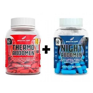Thermo Abdomen - Diurno e Noturno - 120 Caps - Bodyaction