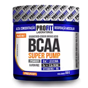 BCAA Super Pump Powder 300 Gr Profit