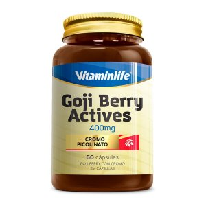 Goji Berry Actives 400 Mg 60 Capsulas VitaminLife