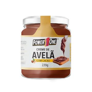 Creme de Avelã com Cacau 220 Gr Power One