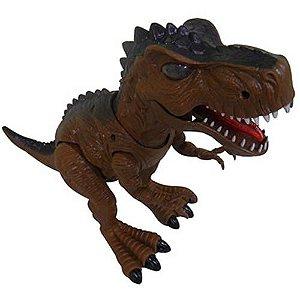 Dinossauro De Brinquedo Com Luzes E Som Tiranossauro Rex