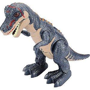 Boneco T-Rex com Mecanismos Eletrônicos