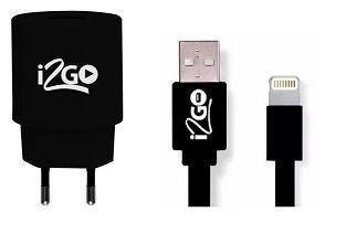Kit carregador iphone 5/6/7 I2GO