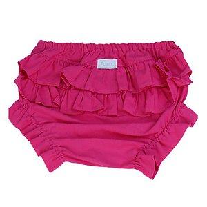 Calcinha tapa fralda rosa pink