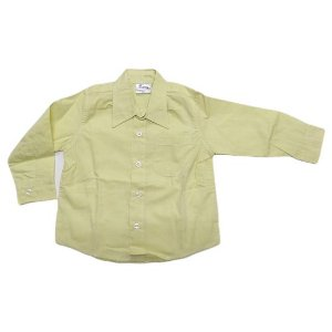 Camisa manga longa amarela