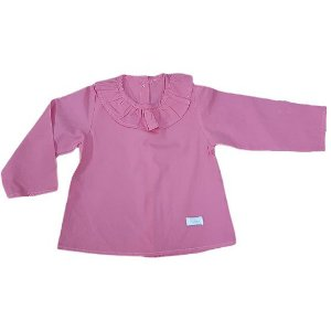 Camisa babadinhos rosa danone