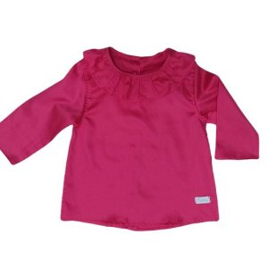 Camisa babadinhos rosa pink