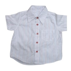 Camisa manga curta riscadinha