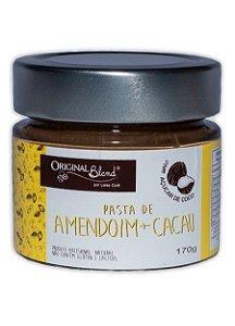 Pasta de Amendoim com Cacau e Açúcar de Coco - 170gr