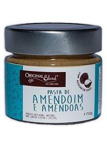 Pasta de Amendoim com Amêndoas e Açúcar de Coco - 170gr