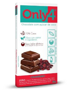 ONLY4 - Cranberry - 80gr