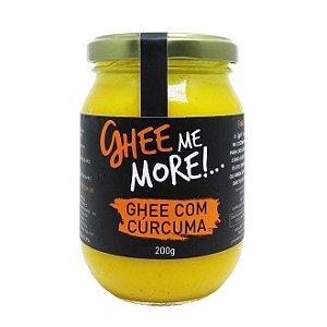 Manteiga Ghee - Cúrcuma - 200gr