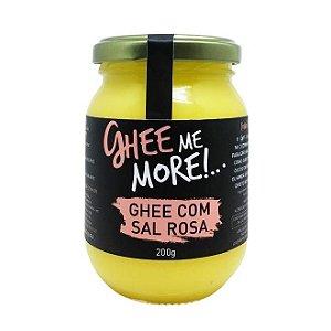 Manteiga Ghee - Sal Rosa - 200gr