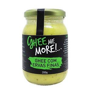 Manteiga Ghee - Ervas Finas - 200gr