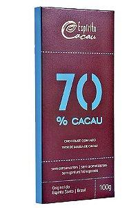 Chocolate 70% Cacau - 100gr