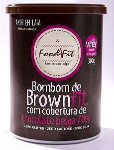 Brownfit com Chocolate Belga 70% - 300gr