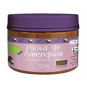 Pasta de Amendoim com Açúcar de Coco - 300gr