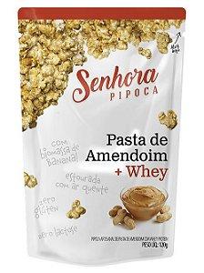 Pipoca Amendoim + Whey - 120gr