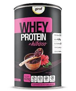 Whey Protein + Hibisco - 420gr