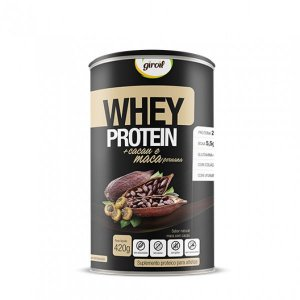 Whey Protein + Maca Peruana  - Cacau - 420gr