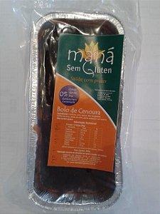 Bolo de Cenoura com Chocolate Maná - 280gr