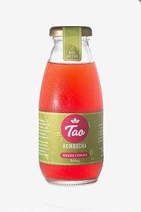 Tao Kombucha Morango e Hibiscus - 300ml
