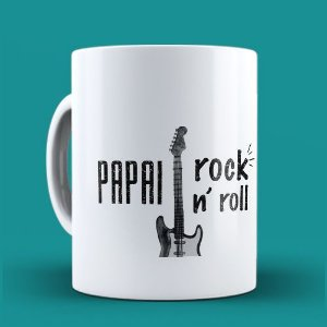Caneca Pai Rock n' Roll