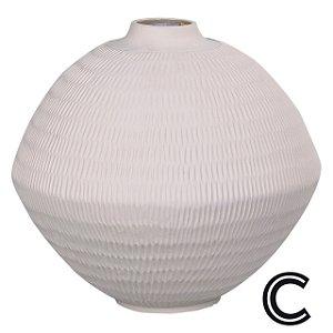 Vaso de Cerâmica Branco Grande