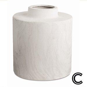 Vaso Mármore Cerâmica G