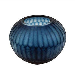 Vaso Redondo Azul M