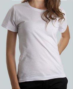 Camiseta Baby Look Branca CB4738