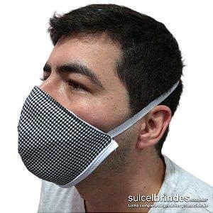 Máscara de Tecido Proteção Respiratória 10 unidades