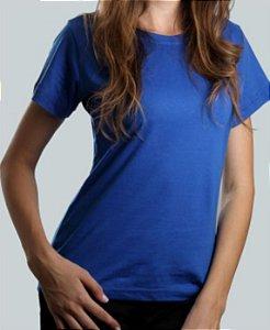 Camiseta Baby Look Azul CB4732