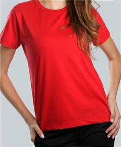 Camiseta Baby Look Vermelha CB4734