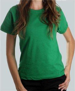 Camiseta Baby Look Verde CB4731