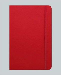 Caderneta Vermelha tipo Moleskine MK3030