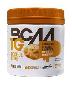 DUPLICADO - BCAA 1G - sabor Doce de Leite com 60 tabletes