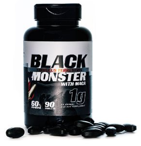Tribulus Terrestris Black Monster 1000mg c/90 Cápsulas - Super Nutrition