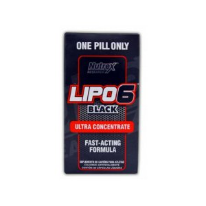 LIPO 6 BLACK ULTRA CONCENTRATE 60 CÁPS - NUTREX
