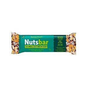 NUTS BAR - UNIDADE - CASTANHAS, COCO E NIBS DE CACAU