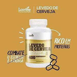 LEVEDO DE CERVEJA - 400 COMPRIMIDOS