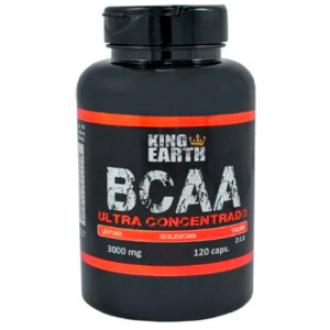 BCAA ULTRA CONCENTRADO 750MG 120CAPS REI TERRA