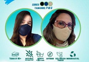Mascara Antiviral Cor Off-White