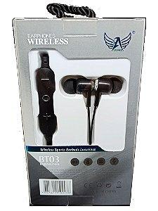 Fone de Ouvido Bluetooth BT-03 com TF Card