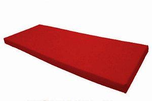 Colchonete Para Visita D20 com Selo do Inmetro Orthovida - Vermelho