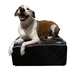 Cama Box para Pet 60x60x22cm Grande, cães e gatos Orthovida