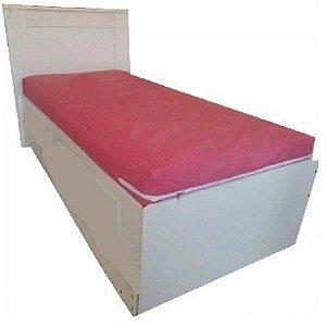 Capa Colchao Solteiro Rosa Hospitalar Impermeavel Com Ziper Orthovida