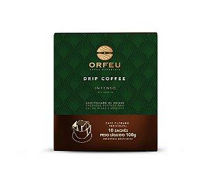 Café Especial Orfeu Intenso Drip Coffee 100g 10 unidades Individuais