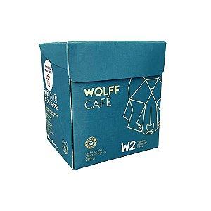 Wolff Cafe W2 em Grãos 250g