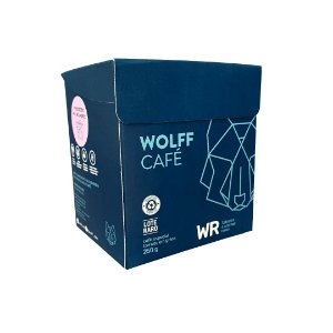 Wolff Cafe WR em Grãos 250g